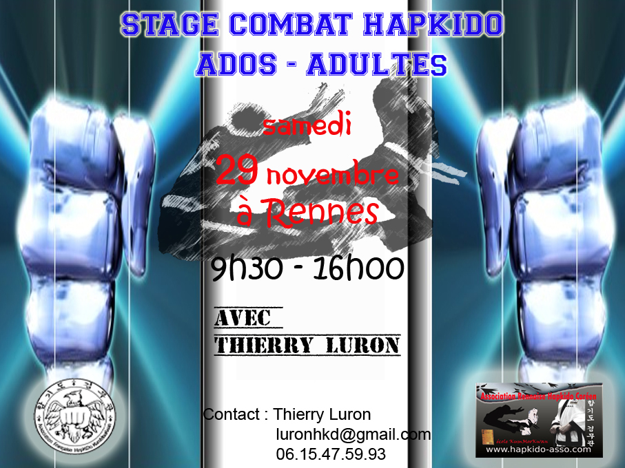 Stage hapkido rennes