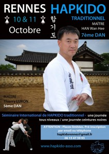 seminaire Hapkido Me Han oct2015