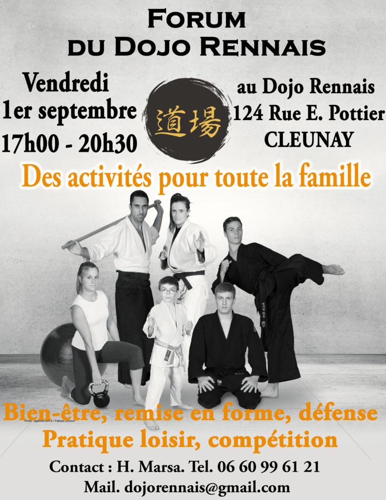 Porte ouverte judo Rennes
