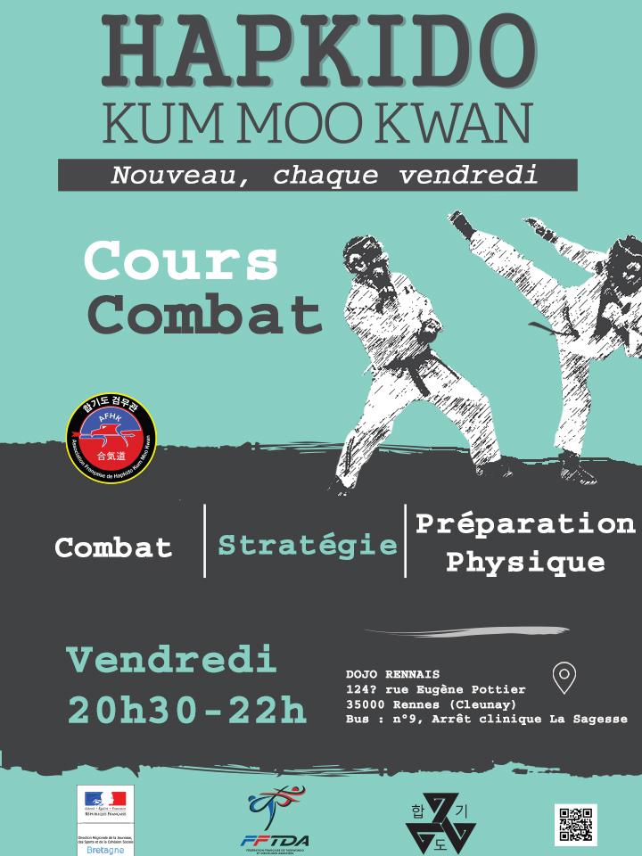 Affiche 2018_combat Hapkido