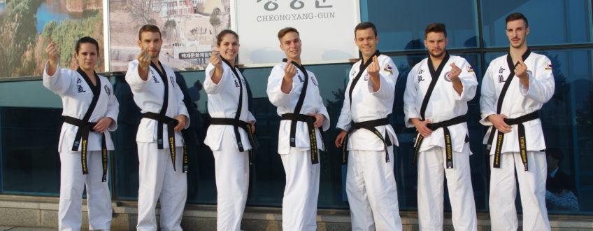 L'Equipe d'Hapkido Rennes
